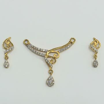 MANGALSUTRA pendant set by Shreeji Silver Palace