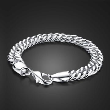Silver gents bracelet by
