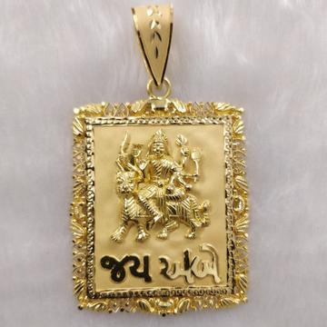 916 Gold Fancy Ambaji Maa Pendant Collection