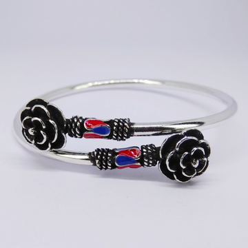 92.5 Silver Ladies Kada Bracelet