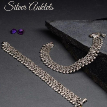 Silver Anklets by