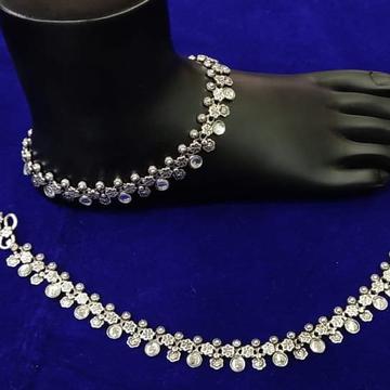 Silver Payal Anklets