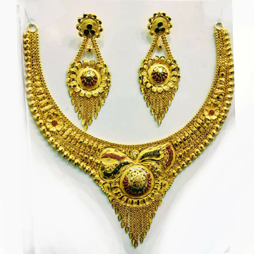 Necklace set butii by