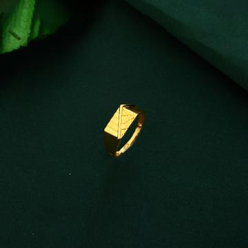 Mens Plain Gold Ring