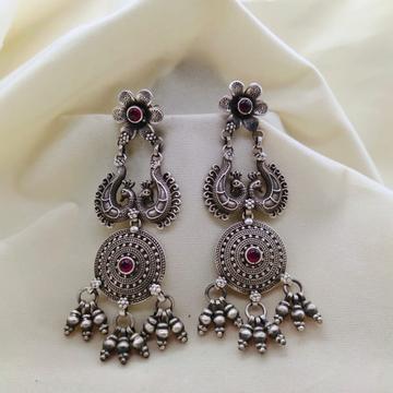 Silver Earrings Jhumka