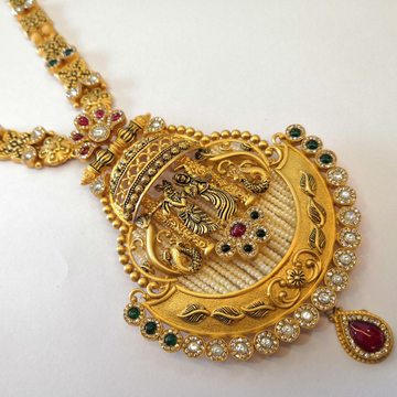 Gold set long by Vinayak Gold