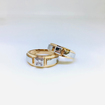 FANCY GOLD COUPLE RINGS by