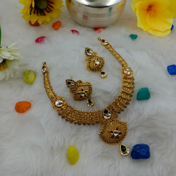 Short antique set Gold 916 hallmark by Ranka Jewellers