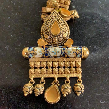 Antique Jadtar Dokiya(Chain Pendant Sets)
