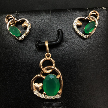 REAL DIAMOND BRANDED PENDENTSET by