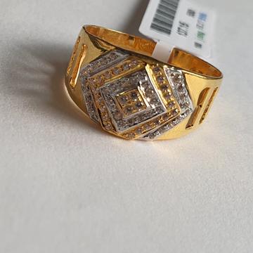 gents ring by Shree Kesar Gold Palace