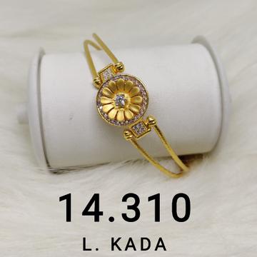 Gold CZ Bracelet by S. O. Gold Private Limited