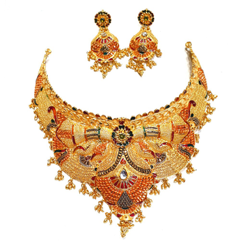 Kalkatti Half Necklace Set