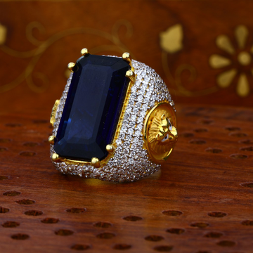 Mens Heavy Gold Ring