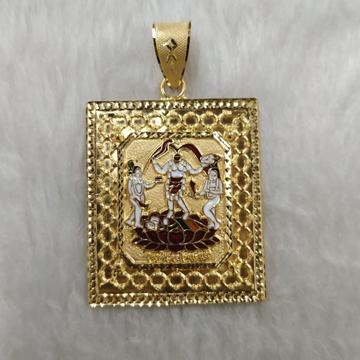 916 Gold Fancy Fuljogani Maa Pendant Collection