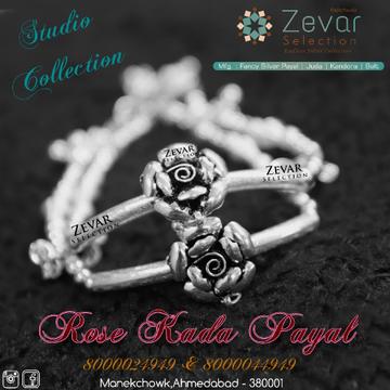 Silver Kada / Sandal Payal