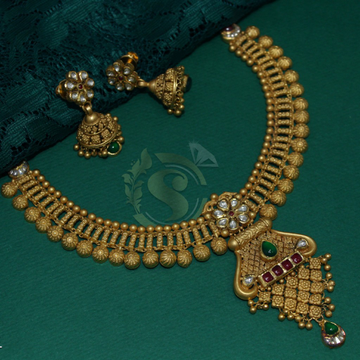 ANTIQUE NECKLACES by Simandhar Jewellers