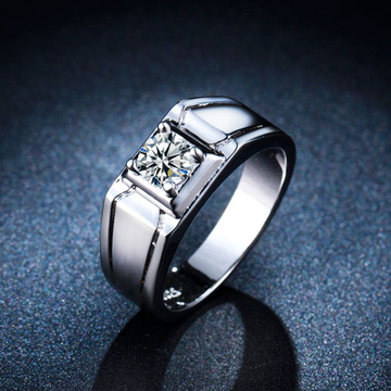 Silver 925 sterling gents ring by