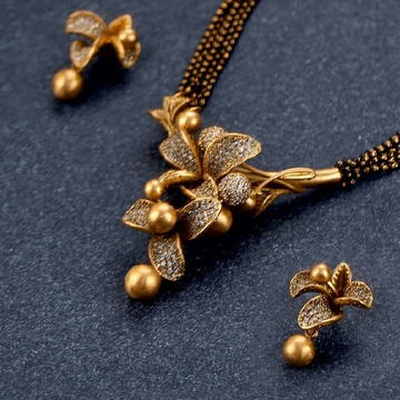 Antique Gold Mangalsutra