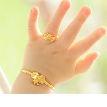 RING BABY GOLD by Ghunghru Jewellers