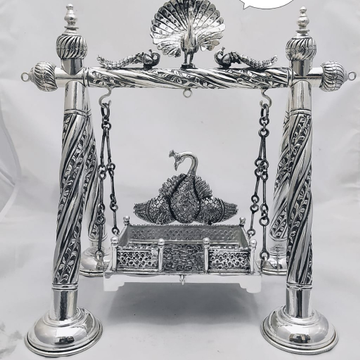 Antique Silver Jhulla by Puran Ornaments