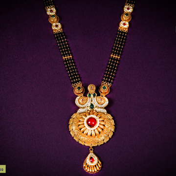MANGALSUTRA CZ - PLAN - ANTIQUE
