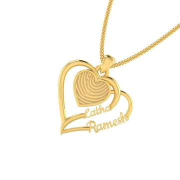 PENDANT GOLD by Ghunghru Jewellers