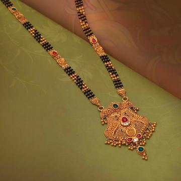 Gold Mangalsutra by Harekrishna Gold