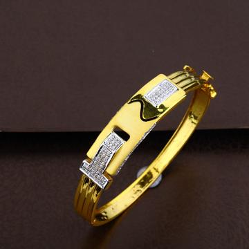 Mens Gold Kada Bracelet