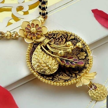 Antique Jadtar Mangalsutra Pendants