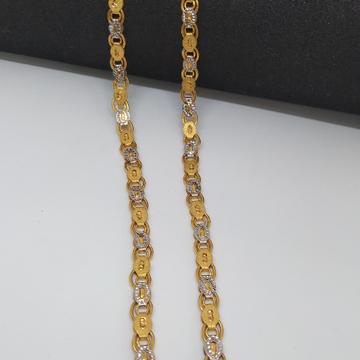 Gold chain + Dokiya + Kanthi by Zaverat