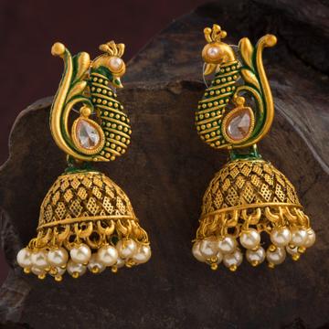 gold earrings by Zaverat