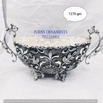 Designer Silver Bowls & Baskets