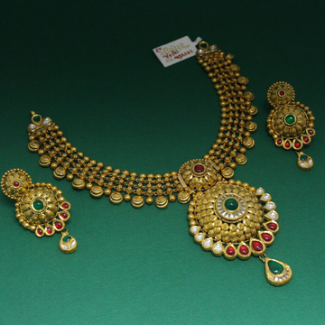 NECKLACE SET by Simandhar Jewellers